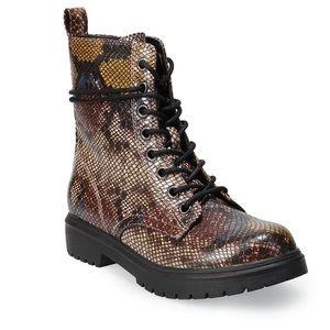 SO® Bowfin Women's Combat Boots
